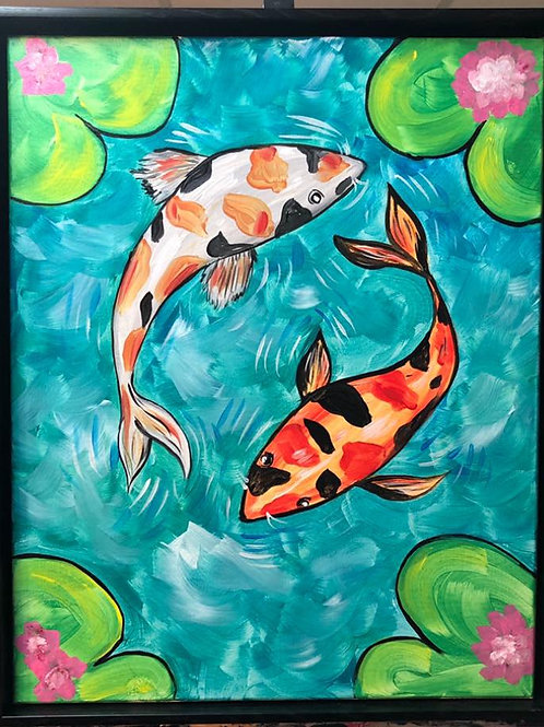 Koi Pond Sign Up and Info - 1/28/21-8pm EST