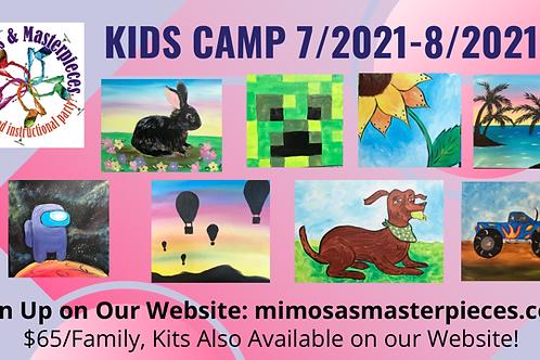 2021 Kid Camp and Painting Kits