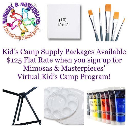 Kid's Camp/Workshop Supply Kit