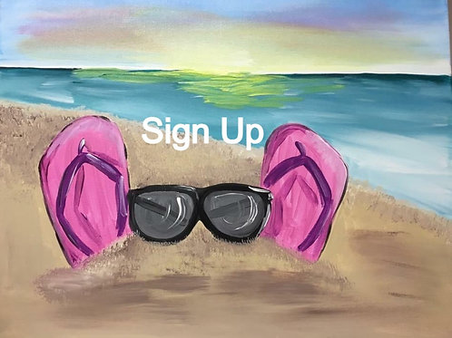 Flip Flops in the Sand Sign Up and Info - 1/14/21-7pm EST