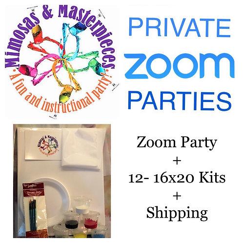 Weekend Zoom Party plus 12 Kits