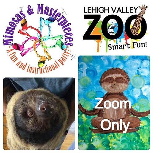 Zen Sloth Zoom Only 6/6/21
