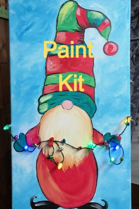 Jolly Gnome- Paint Kit with Lights