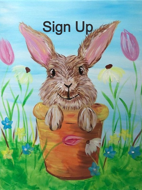 Spring Bunny Sign Up - 3/25/21 at 7pm Eastern Time.