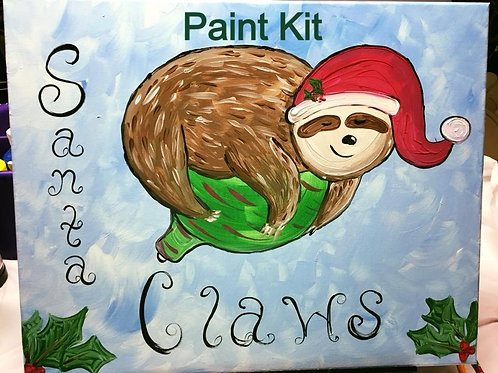 Sloth Paint Party - Virtual Sign up AND Paint Kit - 11/8/20 12:30pm Eastern Time