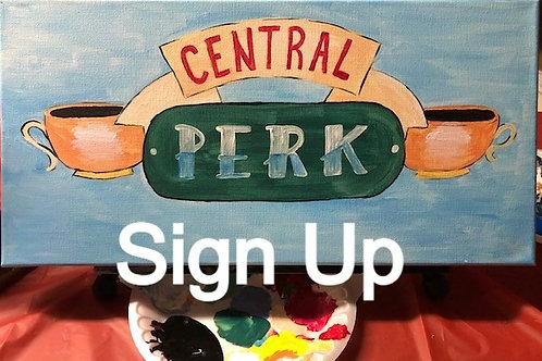 Central Perk Workshop 4/30/21 at 8pm Eastern Time