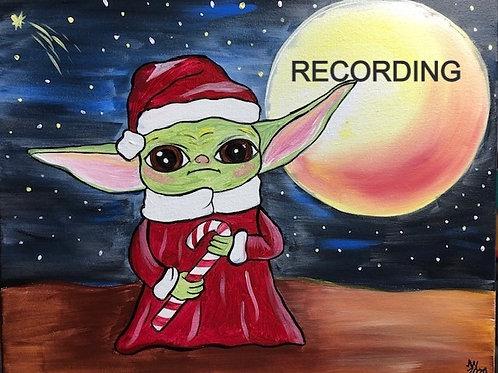 Santa Baby Yoda - Recorded Live Event