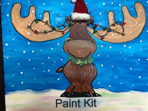 ChristMoose Paint Kit for 12/10-8pm Eastern Time