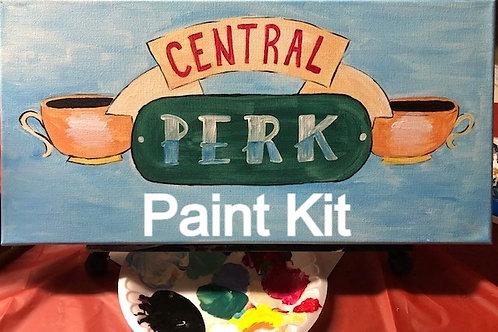 Central Perk Workshop Paint Kit  4/30/21