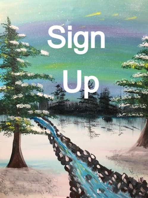 Bob Ross Tribute Sign Up and Info - 1/30/21-8pm EST