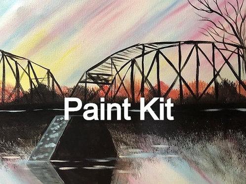 Sunset Bridge Paint Kit