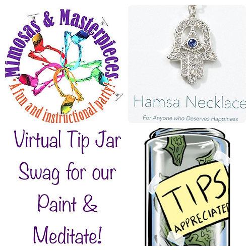 Paint & Meditate Virtual Tip