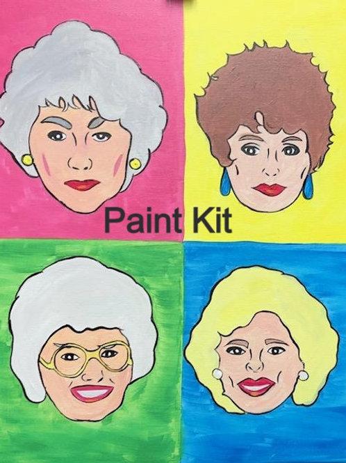 Golden Girls - Paint Kit for 11/20/20 8pm Eastern Time