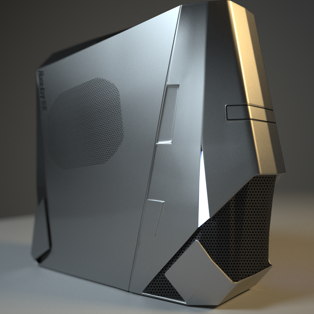Computer case design