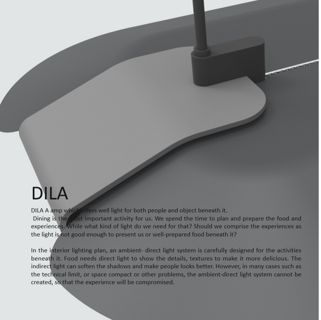 Dining lamp design