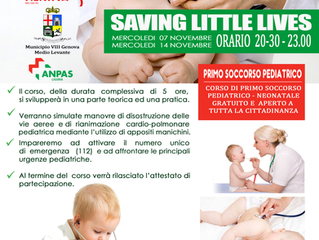 SAVING LITTLE LIVES - PRIMO SOCCORSO PEDIATRICO