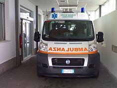 Ambulanza Centro Mobile di Soccorso 274 Distaccamento Albaro