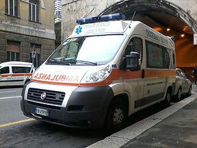 Ambulanza Centro Mobile di rianimazione 267