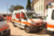 Ambulanza Centro Mobile di socorso 270 distaccamento Carignano