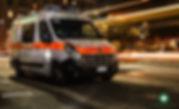 """Ambulanza Centro Mobile di Soccorso """"276"""" Distaccamento Carignano"""