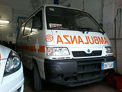 Ambulanza Centro Mobile di Soccorso 275