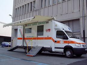 Ambulanza Centro Mobile di Rianimazione 269