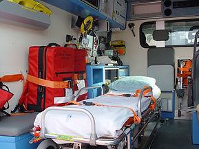 Ambulanza Centro Mobile di Rianimazione 273 - Distaccamento Porto-Levante