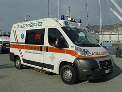 Ambulanza Centro Mobile di Rianimazione 277 Distaccamento Porto-Levante