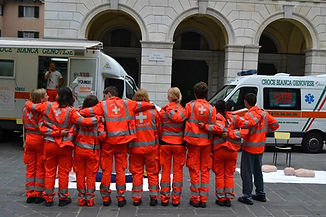 i volontariati croce bianca genovese