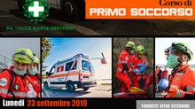 Corso per aspiranti soccorritori volontari 2019