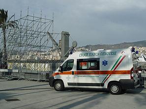 assistenza manifestazioni croce bianca genovese