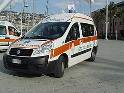 PArco Automezzi croce Bianca Genovese