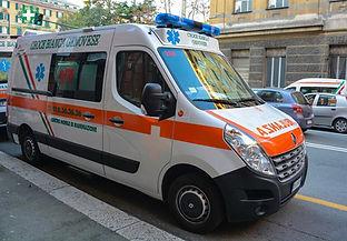 Ambulanza Centro Mobile di Rianimazione 268