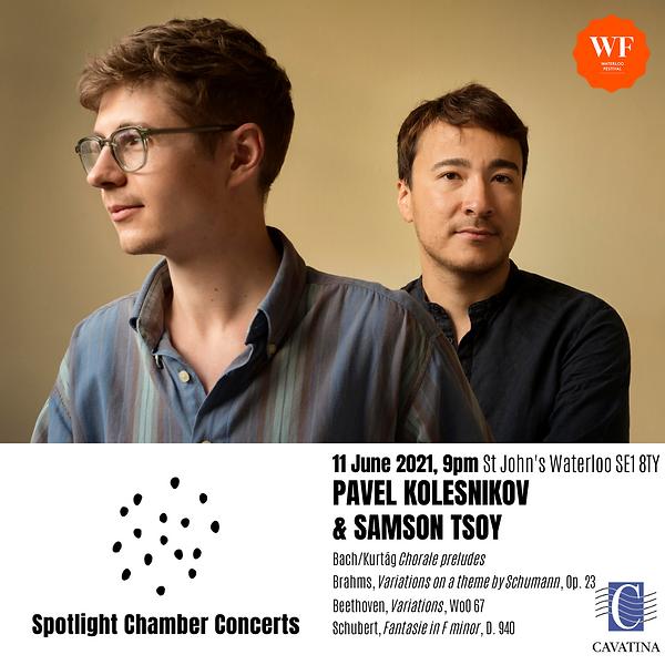 Spotlight June 2021 - KOLESNIKOV & TSOY.