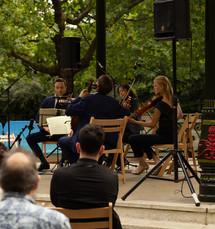 The Doric Quartet play Mozart and Mendelssohn