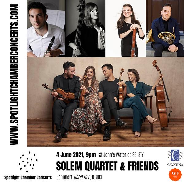 Spotlight June 2021 - SOLEM QUARTET & FR