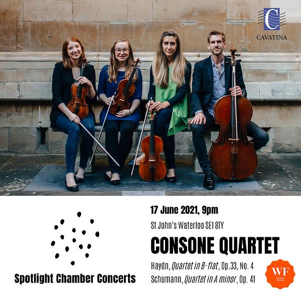 Spotlight June 2021 - CONSONE QUARTET-2.