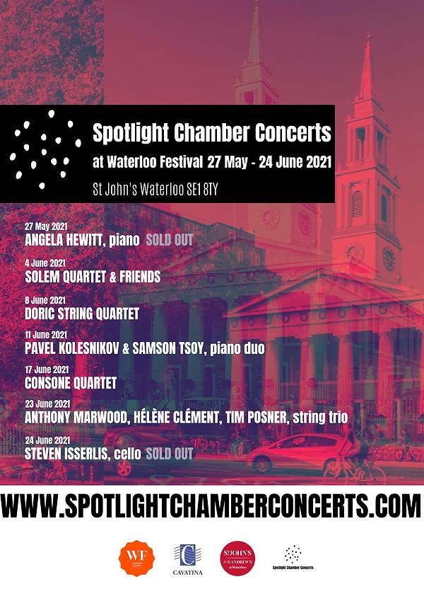 Spotlight Chamber Concerts - June 2021 p