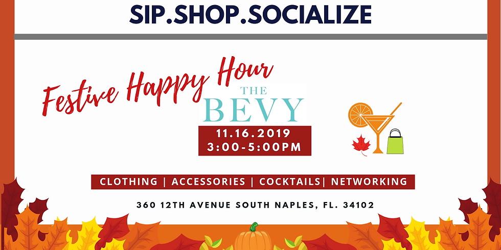 Bevy Festive Happy Hour