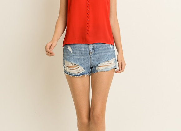 Forever Cami Top Red