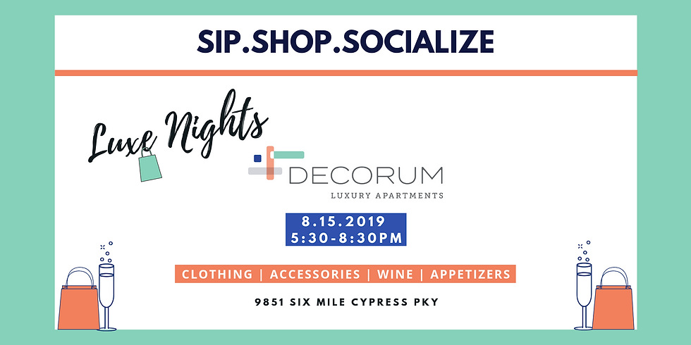 Luxe Nights at Decorum