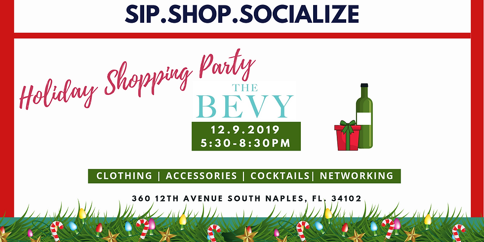 Bevy Holiday Shopping Party