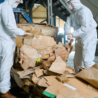 Paper Waste to Building Materials