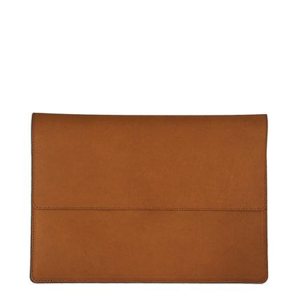 Aspen Padded Laptop Cover - Tan/Black