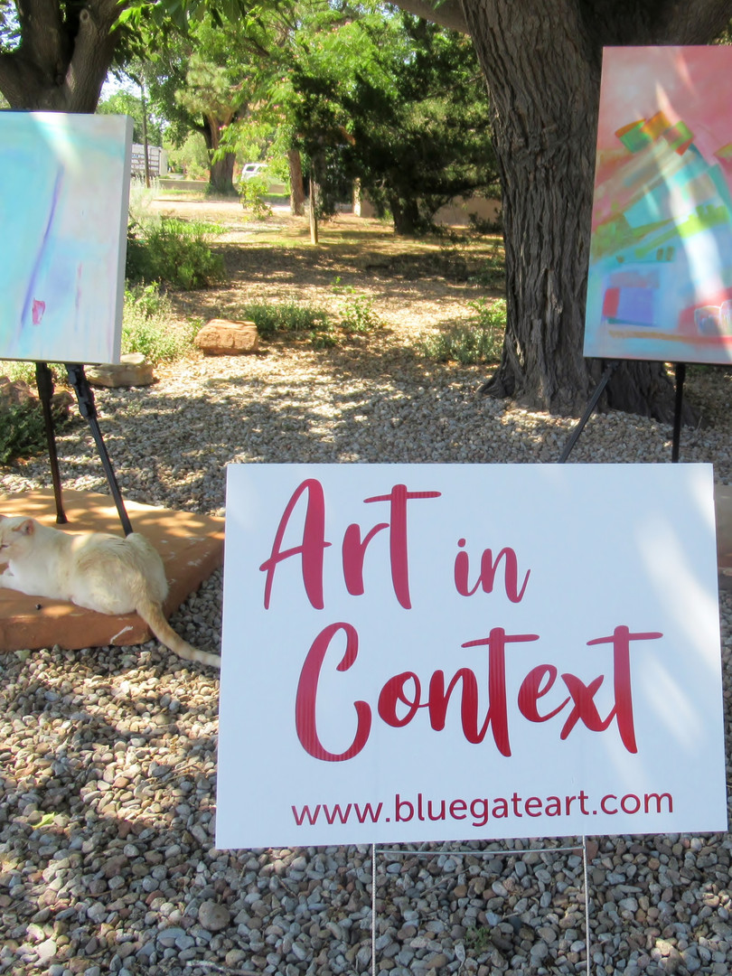 Art In Context--talk to the artists