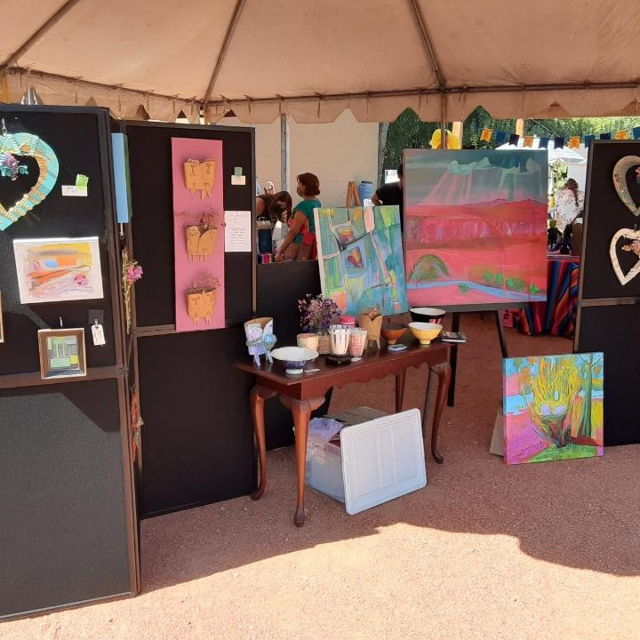 We will be at a Balloon Fiesta art pop up show with other artists.