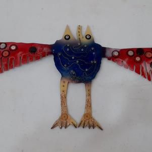 Buttoned up Bird