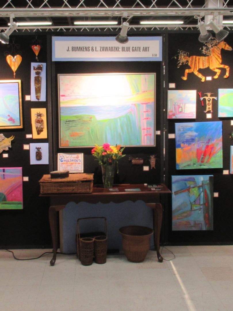 2019 ABQ Arts Showcase Booth