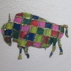 Checkered Buffalo