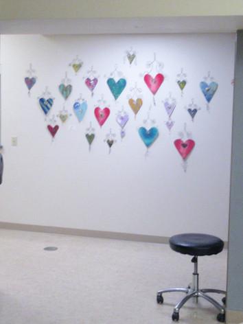 Wall of Hearts at the CWA